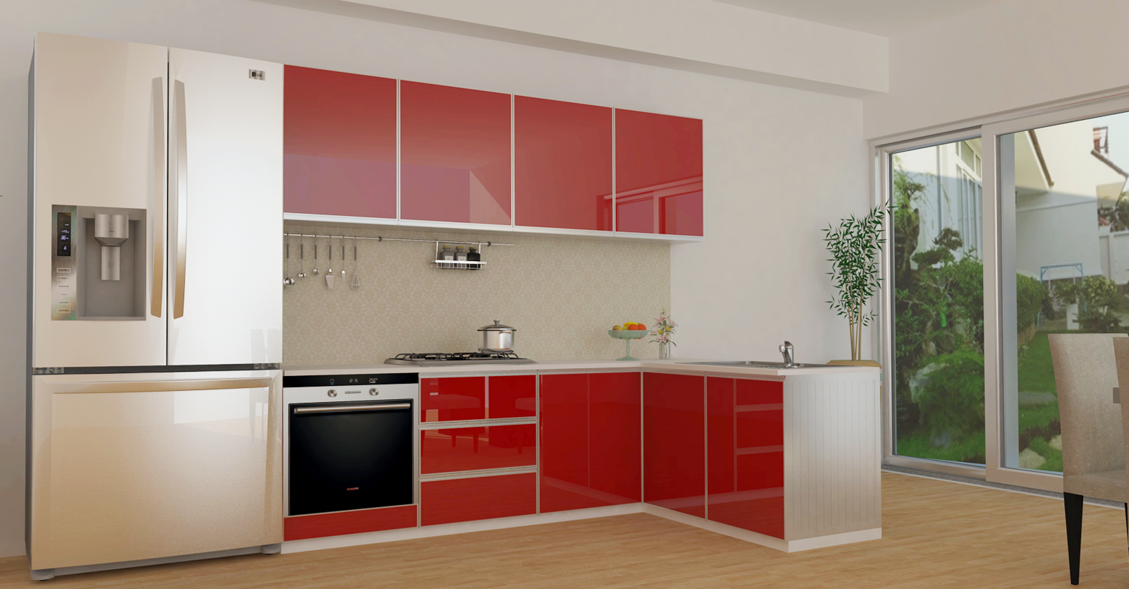 Aluminium kitchen cabinet aluminium kitchen cabinet