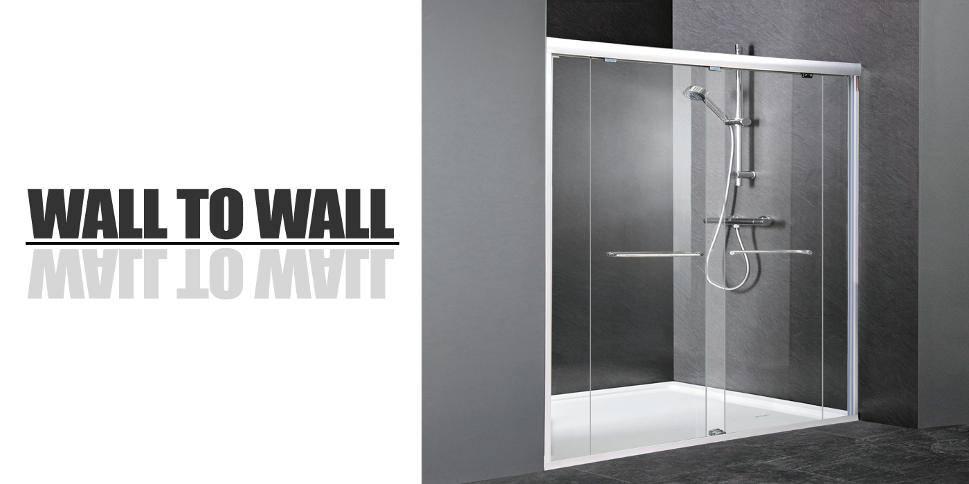 Semi Frameless Shower Screen |